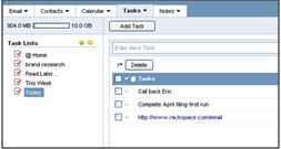 Create task lists with sub-tasks